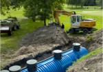 Septic tanks and domestic installations